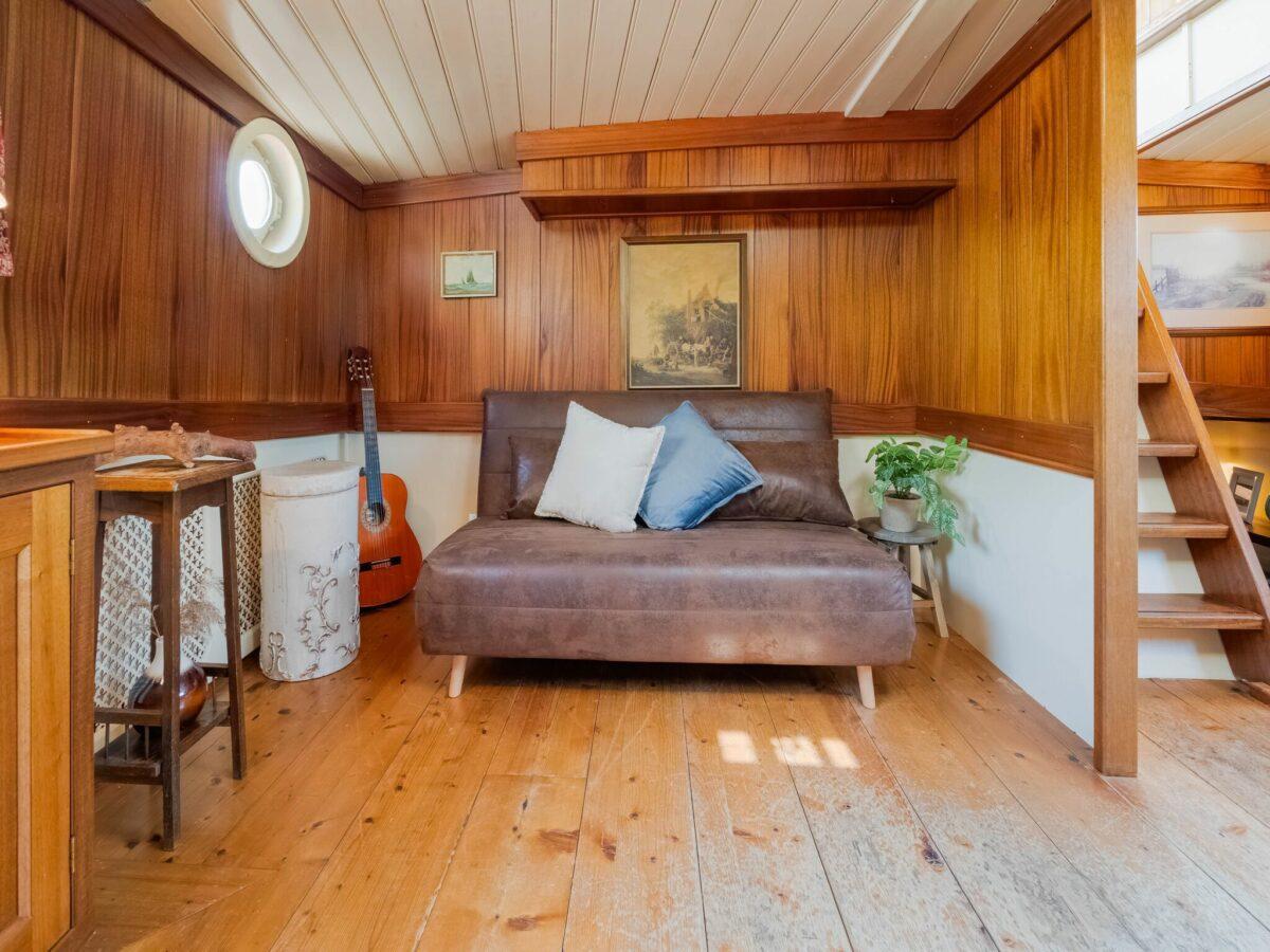 Slaapbank authentiek schip - Belvilla Zandmeren Kerkdriel